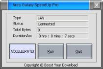 Ares Galaxy Speed Up pro