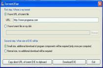 Descargar Torrent2Exe