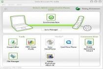 Captura principal de Sony Ericsson PC Suite