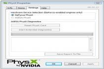 Imagenes de NVIDIA PhysX System Software