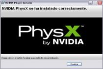 Captura principal de NVIDIA PhysX System Software
