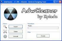Captura principal de AdwCleaner