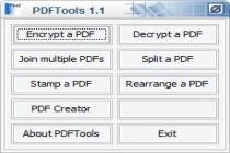 Descargar PDF Tools para Windows