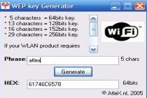 WEB Key Generator