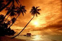 Descargar Puesta de Sol en la Playa para Windows
