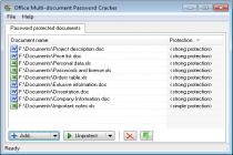 Office Multi-document Password Recover
