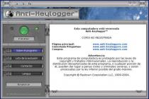 Captura principal de Anti-Keylogger