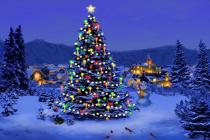 Free my 3d christmas tree screensaver for Screensaver natale 3d