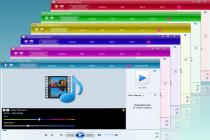 Descargar Windows Live Media Player Skin 4.0