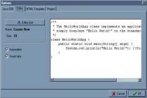 Imagenes de Java Editor