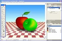 Captura principal de Macromedia FreeHand MX