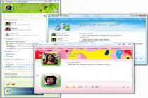 Captura principal de Windows Live Messenger