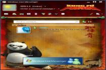 Descargar Skin MSN Kung Fu Panda 1.0.0