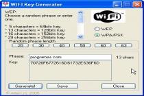 Imagenes de WIFI Key Generator