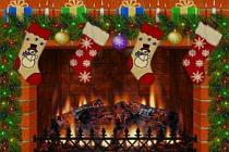 Descargar Christmas Fireplace Screensaver para Windows