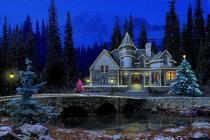 Descargar 3D Christmas Cottage para Windows