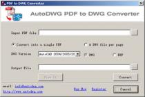 Descargar AutoDWG PDF To DWG Converter para Windows