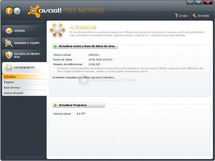 Avast Virus Protection Free Trial.