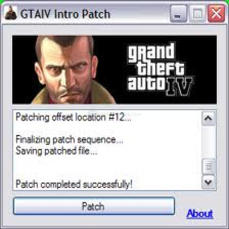 GTA IV Intro Patch.