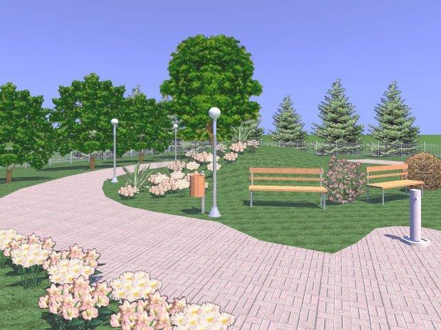 Descargar dise o de jardines y exteriores en 3d - Diseno de jardines exteriores ...