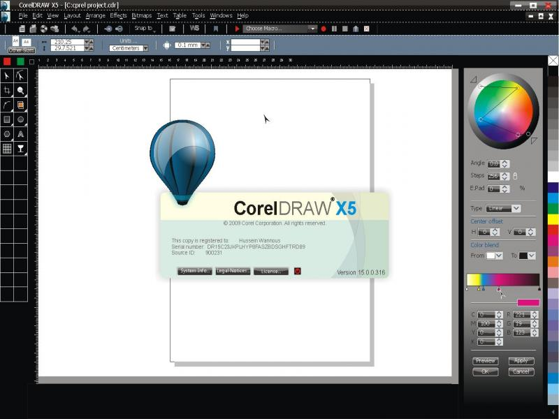 Download CorelDRAW X5 File Size : 583 MB Download Keygen File Size : 13 KB