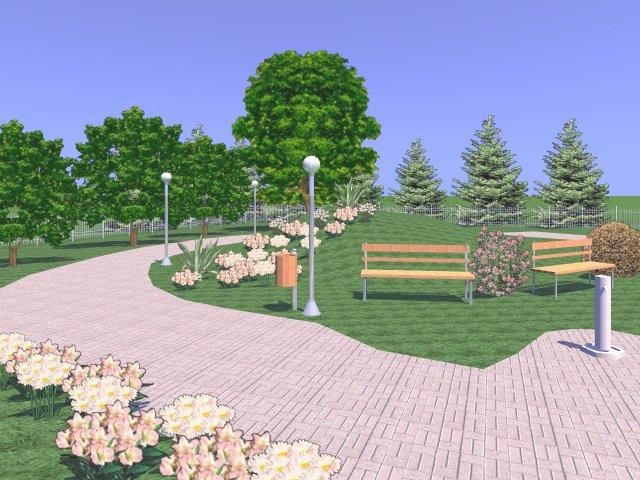 Descargar dise o de jardines y exteriores en 3d - Jardines disenos exteriores ...