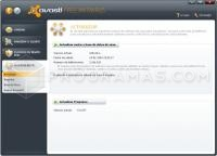 Captura principal de Avast! Free Antivirus 8.0.1482