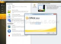 Captura principal de Microsoft Office 2010 Professional