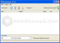 Captura principal de VSO Downloader