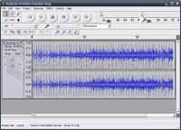 Captura principal de Audacity Portable