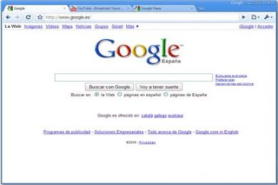 Screenshot Google Chrome