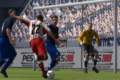 Screenshot PES 2009 (Pro Evolution Soccer)