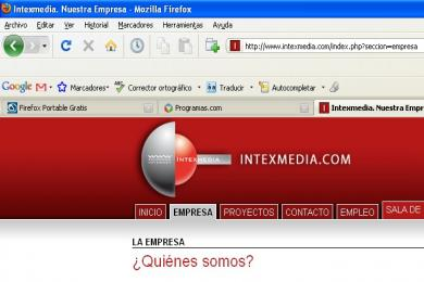 Captura Mozilla Firefox Portable