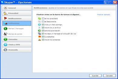 Screenshot Skype Portable