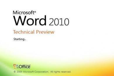 Screenshot Microsoft Office 2010 Professional