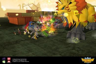 Captura Digimon Masters Online