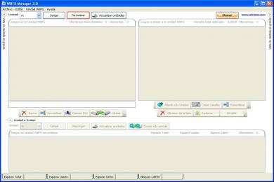 Screenshot WBFS Manager