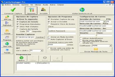 Captura Family Keylogger