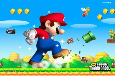 Screenshot Fondo New Super Mario Bros