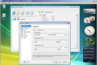 Screenshot VirtualBox