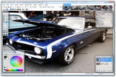 Screenshot Paint .NET