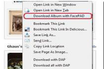 Facebook Photo Album Downloader