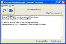 Windows Live Messenger Password Recovery