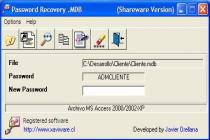 Password Recovery .MDB