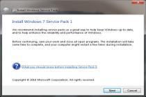 Windows 7 Service Pack 1
