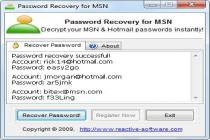 MSN Password Cracker