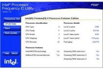 Intel Processor Frequency