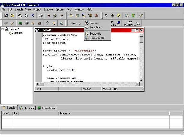 Download Dev-Pascal 1.9.2